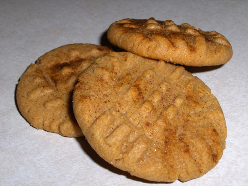 Spicy Peanut Butter Cookies