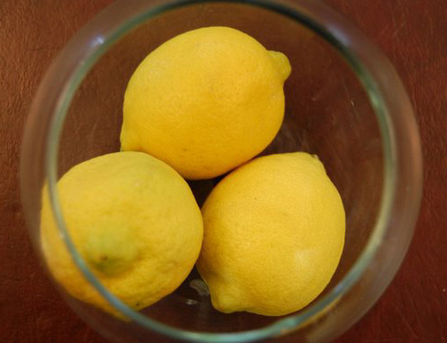 What to do with so many lemons?