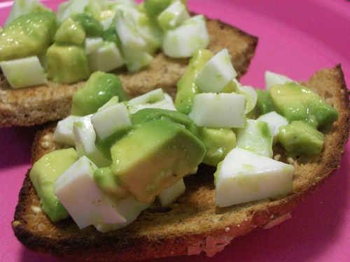 hard boiled egg whites with avocado recipe martha stewart avocado egg ...