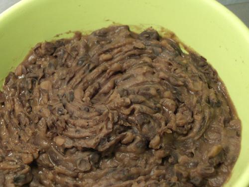 "Unfried ""refried"" black beans"