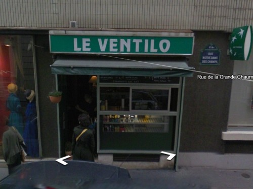 Le Ventilo - a tiny sandwich shop in Paris, that I loved