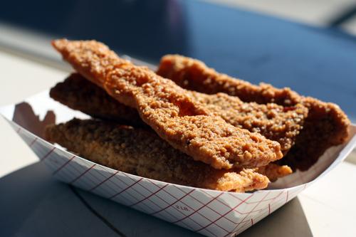 Bizarre Food: Chicken-Fried Bacon