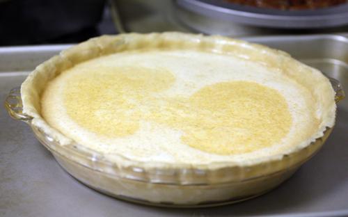 Pumpkin Pie Unbaked