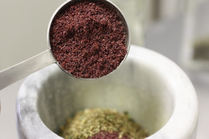 One tablespoon of ground sumac